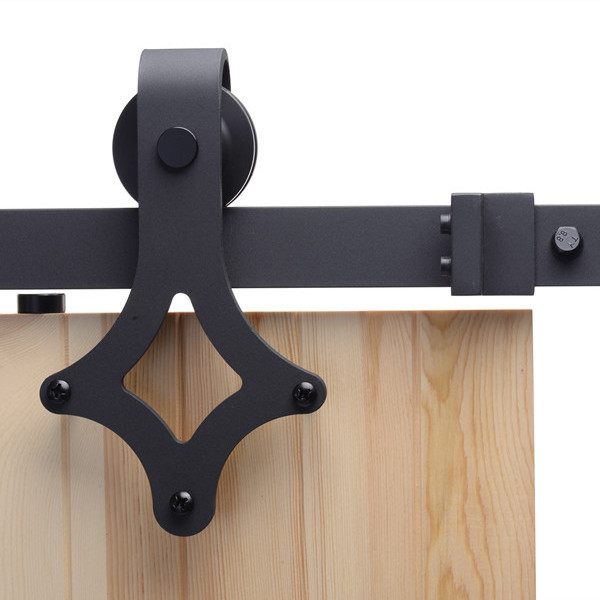 contemporary barn door hardware