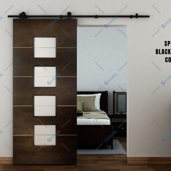 Top Mount Barn Door Kit Hangzhou Spark Hardware Co Ltd