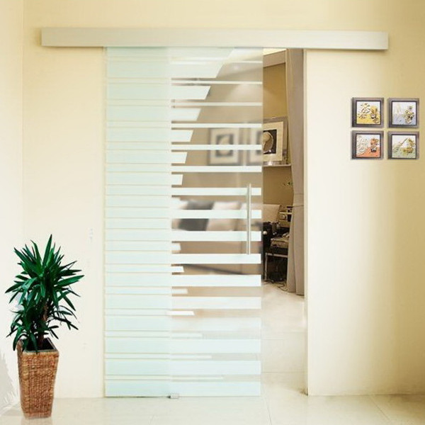 double glass doors