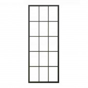 steel glass door panel